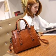 цена на New Style WOMEN'S Bag Europe And America Fashion Shoulder Bag Simple Glorious Retro One-Shoulder Handbag Large Bag Lady Bag
