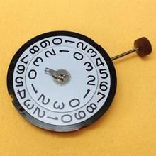 Швейцарский rhonda 509 Трехконтактный кварцевый механизм с двойным календарем без батареи