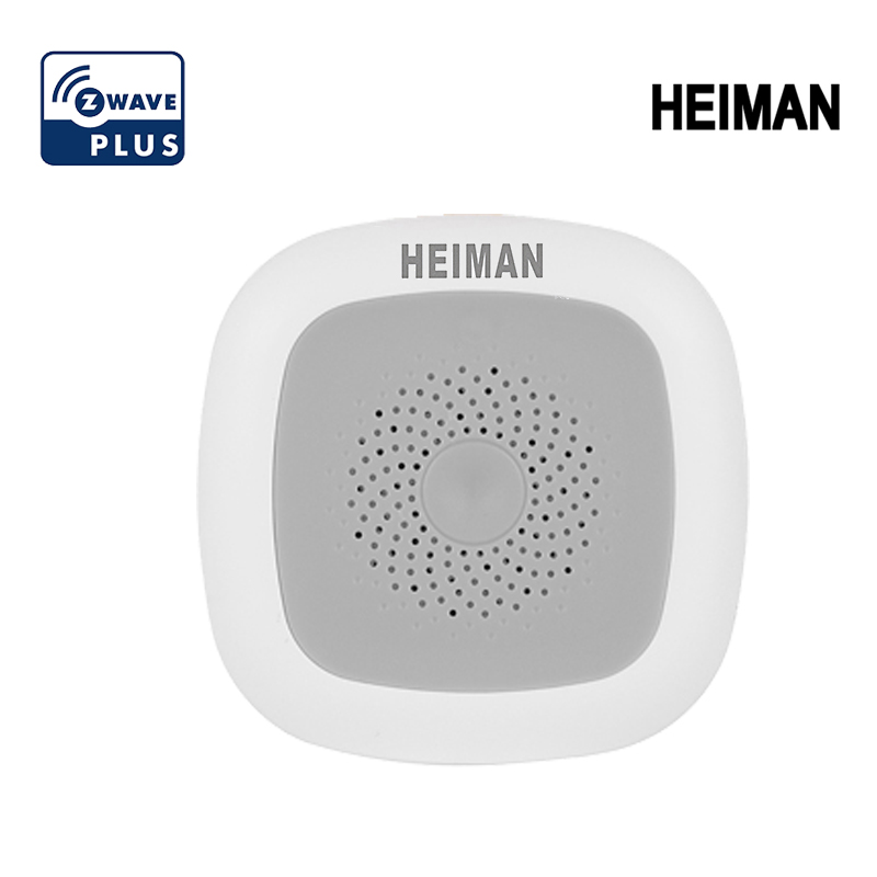 HEIMAN Smart Home Zwave Temperature & Humidity Sensor Home Z Wave Detector EU 868MHz Work With Smartthings,Fibaro Ect