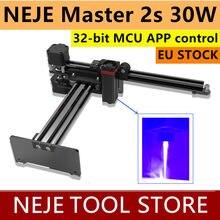 NEJE – Machine à graver au Laser Master 2s 30W, pour ordinateur de bureau, routeur à bois CNC, avec contrôle par application, compatible avec Windows, Mac et Android