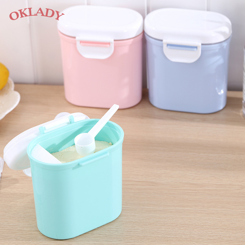 Infant Baby Travel Portable 4 Layers Milk Powder Box Food Storage Container Yd