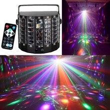 2 In 1 Laser LED Strahl Butteryfly Fernbedienung Laser Blume Led Soward Wirkung Licht Professionelle Bühne Party KTV Disco club