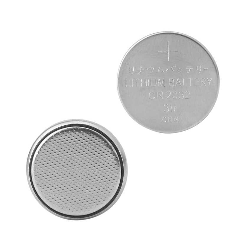 Pila de botón CR2032 CR 2032, batería para báscula con calculadora y reloj remoto 3V 270B, 1 unidad