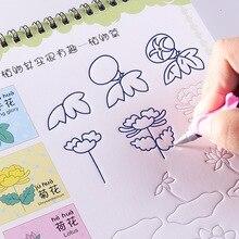 3D ПАЗ животное /фрукты / овощное растение мультфильм детские рисунок книга Раскраски для детей роспись экземпляров Libros 3-9 возраст