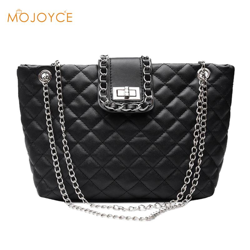 Luxury Brand Plaid Crossbody Bags For Women Large Female Handbags Women Large Capacity Shoulder Bag Chain Totes Dropshipping
