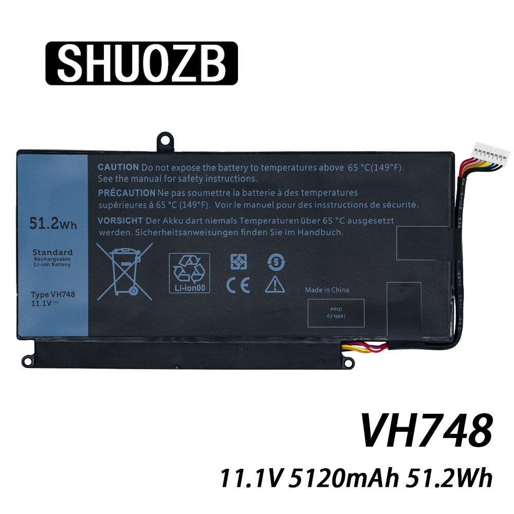 VH748 Batterie D'ordinateur Portable Pour DELL Vostro 5560 5460 5470 14 5480 P41G Inspiron 14-5439 V5460D-1308 V5460D-1318 5470D-1328 11.1V