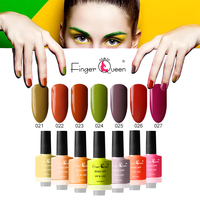 FingerQueen 84Colors UV Gel Nail Polish Hybrid Varnish Semi Permanant Lucky Lacquer Gelpolish Nails Art All For Manicure