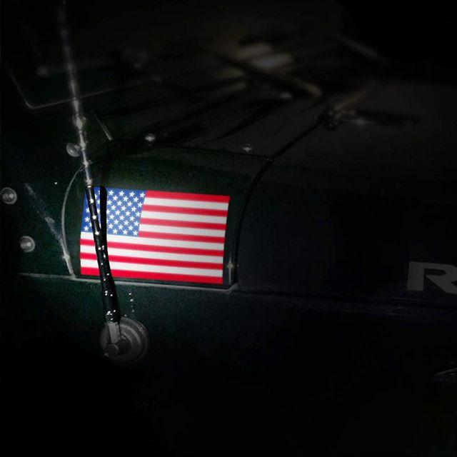 US American Flag - Sticker 2