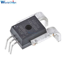 Sensor de corriente lineal ACS758LCB-100B-PFF-T, accesorio IC mejorado térmicamente, Efecto Hall integrado, basado en 100 Conductor de corriente, 5 uds.