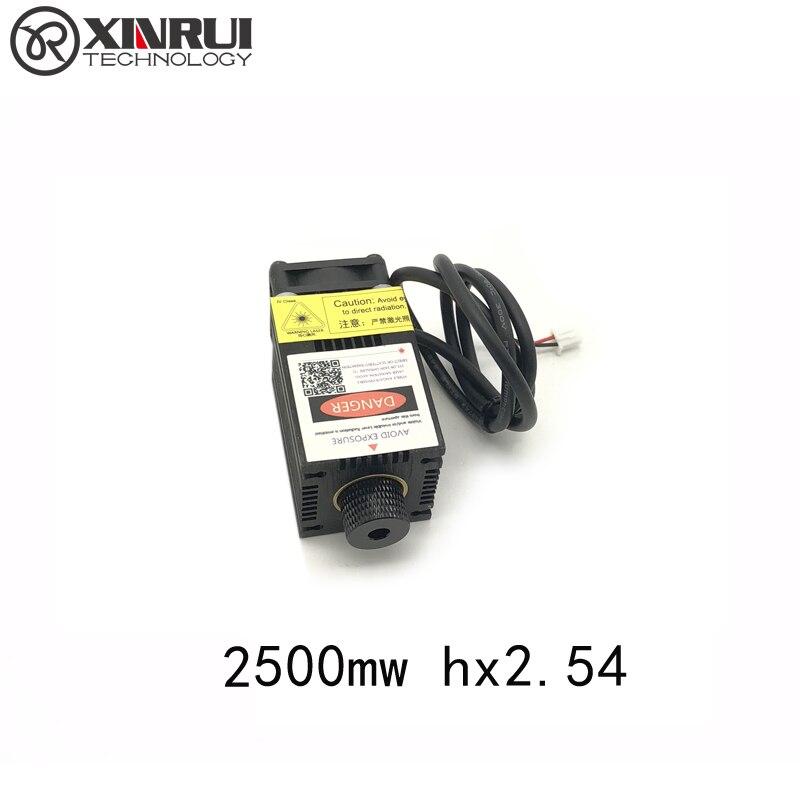 2500mw Laser Module 2.5w 445nm Blue Engraving Machine Accessories 12v