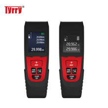 TYRRY Laser Distance Meter Digital Rangefinder Laser Range Finder Area Volume Measurement 100m 328ft laser rangefinder digital laser distance meter handheld range finder area volume measurement level bubble