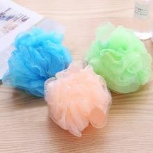 Shower-Scrubber Bathroom-Supplies Sponge-Accessories Flower Mesh Clean To Color Soft