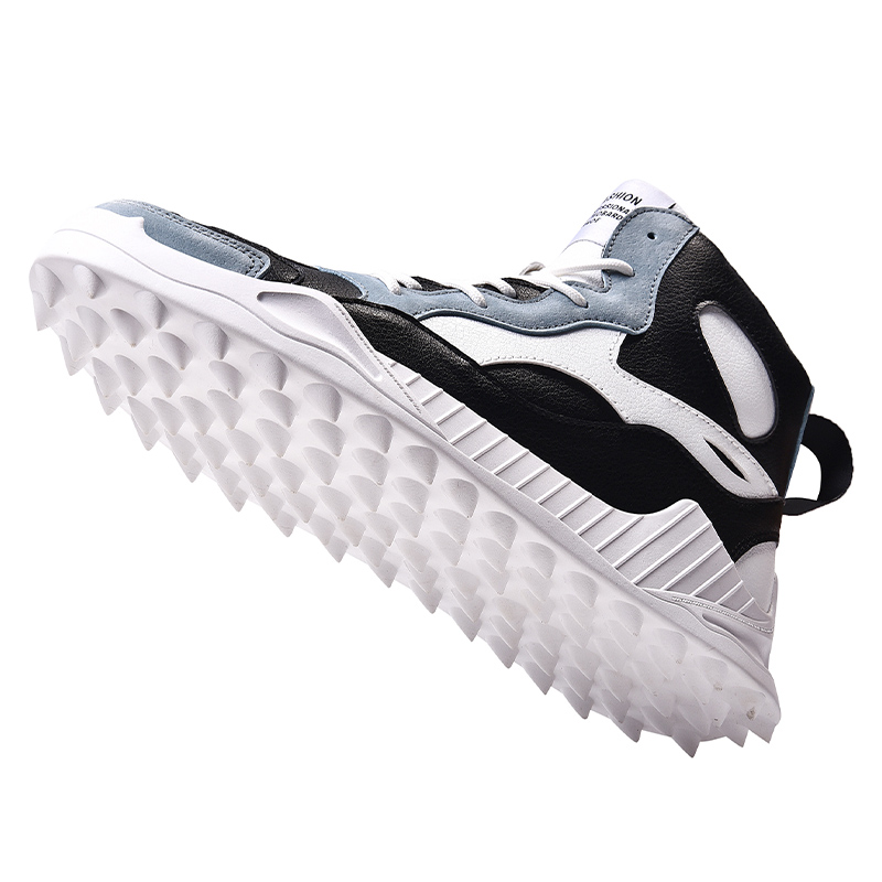 High Top Golf Shoes for Men  Waterproof Golf Shoes Sports Sneakers Mens Sneakers Sneakers Anti-Skid Shoes Breathable Comfortable