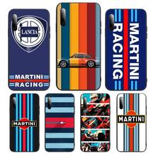Martini Racing Phone Case For Samsung S Note20 10 2020 S5 21 30 ultra plus A81 Cover Fundas Coque