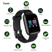цена на Sport Smart Watch 116 PLUS Smart Bracelet Heart Rate Blood Pressure Life Waterproof Wristband For IOS 8.4 and Android 4.4 Above