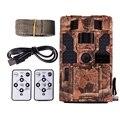 20MP 30ftp HD 1080P камера слежения 48 шт. светодиодов ИК ночного видения Водонепроницаемая Охотничья камера 2 дюймов ЖК-камера дикой природы для дом...