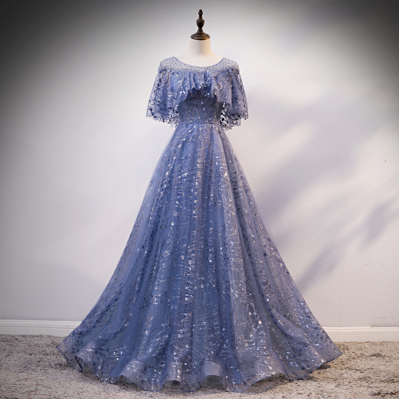 Grey Quinceanera Dresses Ball Gown Lace Beaded Ruffled Sweet 16 Dresses Ball Gowns Prom Dresses Vestidos De 15 Anos