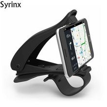 цена на Syrinx Car Dashboard Phone Holder Stand Universal Car Cellphone Support 360 Rotation For iphone Xiaomi Samsung Smartphone Mount