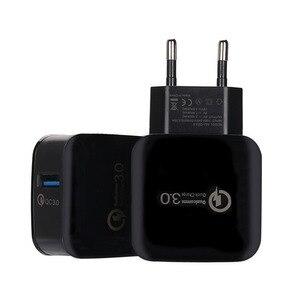 Image 4 - Quick Charge 3,0 EU Stecker Handy Ladegerät 15W Schnelle Wand USB Ladegerät Adapter für Samsung Xiaomi USB Telefon ladegeräte