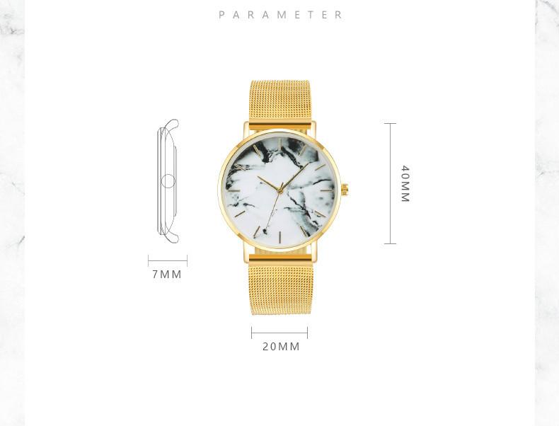 Мужские часы mreurio лидер продаж модные мраморные наручные