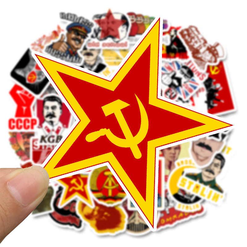 10/30/50pcs Pacchetto Unione Sovietica Stalin URSS CCCP Leader Adesivi FAI DA TE Impermeabile Dei Bagagli Del Computer Portatile di Skateboard Moto decalcomanie auto Giocattolo