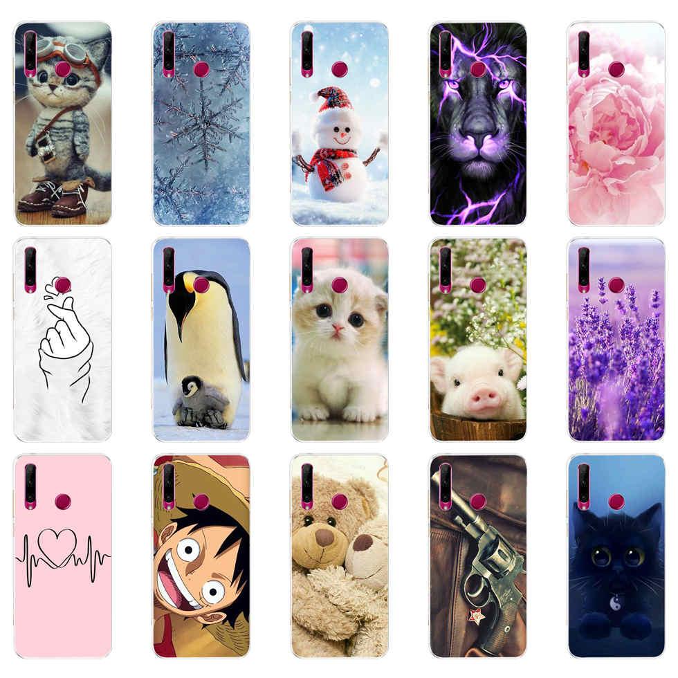 Чехол для Honor 10i HRY LX1T, силиконовый чехол из ТПУ, задняя крышка, чехлы для телефонов Huawei Honor 10i 10 i 6,21 дюймов, чехол бампер|Специальные чехлы|   | АлиЭкспресс