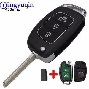 Remote 3 Buttons 433Mhz With ID46 Chip TOY40 Car Key For Hyundai New IX35 IX25 IX45 Elantra Santa Fe Sonata Fob Control|Car Key| |  -
