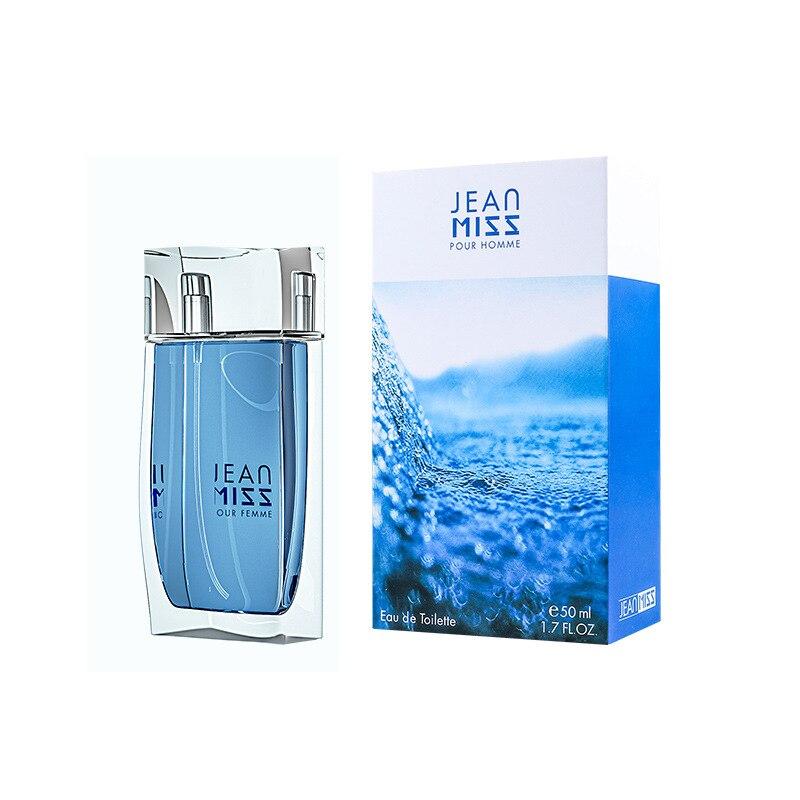 JEAN MISS Brand Original 50ml Perfume For Men Spray Glass Bottle Long Lasting Male Parfum Eau De Liquid Pure Women Perfume 4