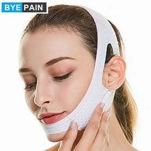 1Pcs BYEPAIN V Line Facial Mask Chin Neck Belt Sheet Anti Aging Face Lift Up Chin Cheek Slim Lift Up Anti Wrinkle Mask