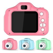 Mini cámara Digital recargable con pantalla HD de 2 pulgadas, bonitos juguetes de dibujos animados para niños, accesorios de fotografía al aire libre para regalo de cumpleaños para niños