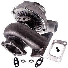 Gt30 gt3037 gt3076r t3.82 a/r 51 guarnição polido turbo carregador gt30 500 + hp anti impulso universal turbo carregador 500bhp compressor