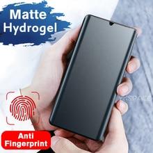 Мягкая матовая Гидрогелевая пленка для Xiaomi Mi 8 9 SE 9X 9T 10T Note 10 Pro Lite 11 Ultra Mix 2 2S 3 4, защита экрана без отпечатков пальцев