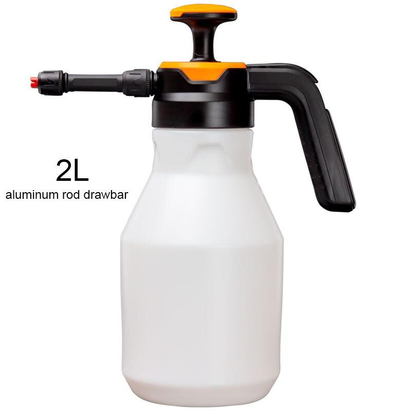 1- 2L car wash sprayer foam spray nozzle auto pressure /foam sprayer auto sprayer plastic for household window foam watering can-5