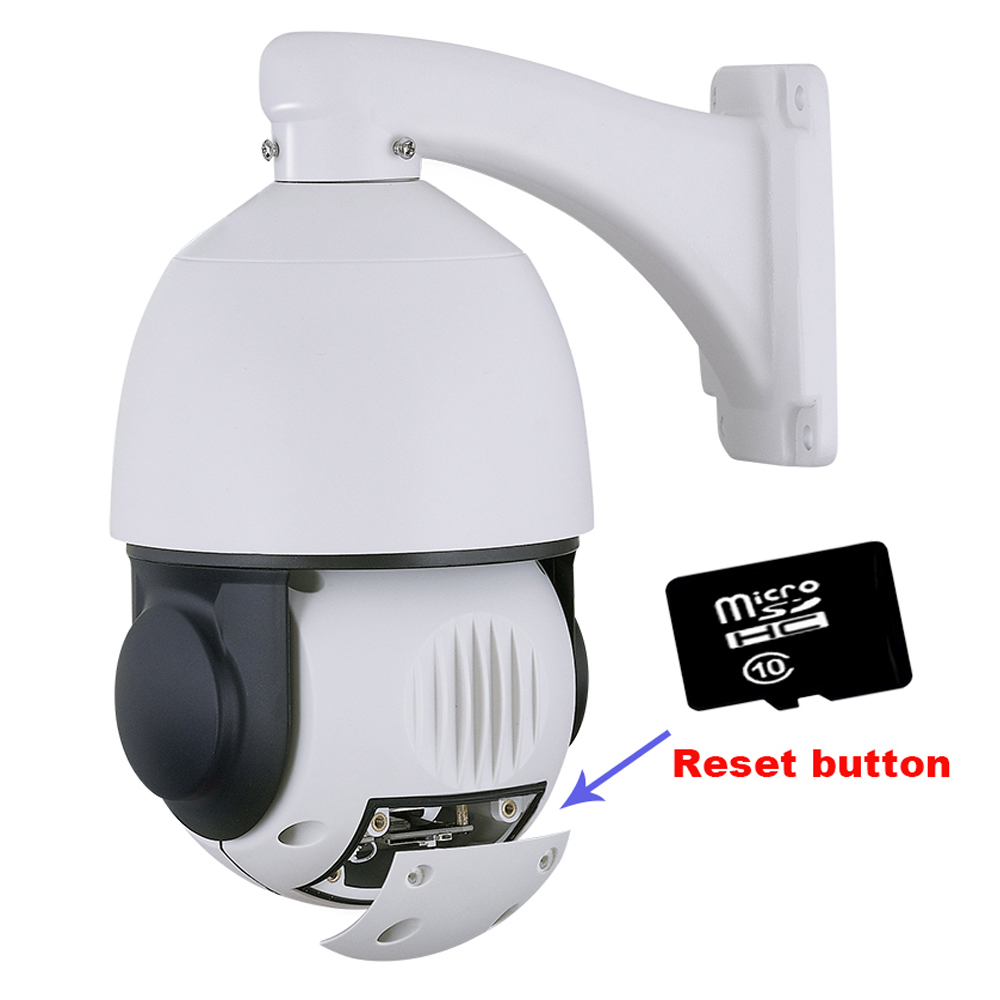 Image 2 - SONY IMX 335 Wireless 5MP 4MP Auto track 20X ZOOM 25fps People Humanoid recognition WIFI PTZ Speed dome IP Camera security SD-in Surveillance Cameras from Security & Protection