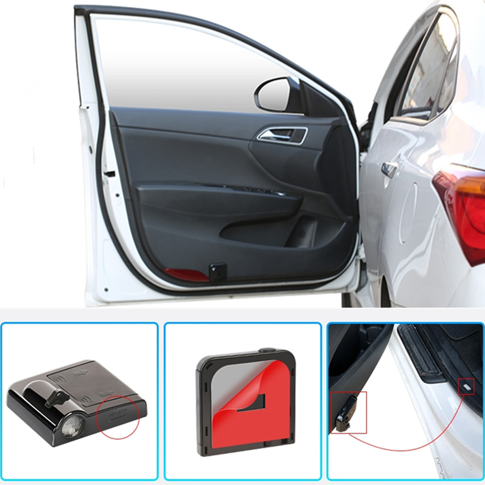Светодиодный автомобиль украшения двери лампы-проекторы логотипа для Skoda Superb Yeti Octavia A7 A5 A6 на возраст 1, 2, 3, A2 A3 5 6 7 быстрого Kodiaq Fabia Karoq