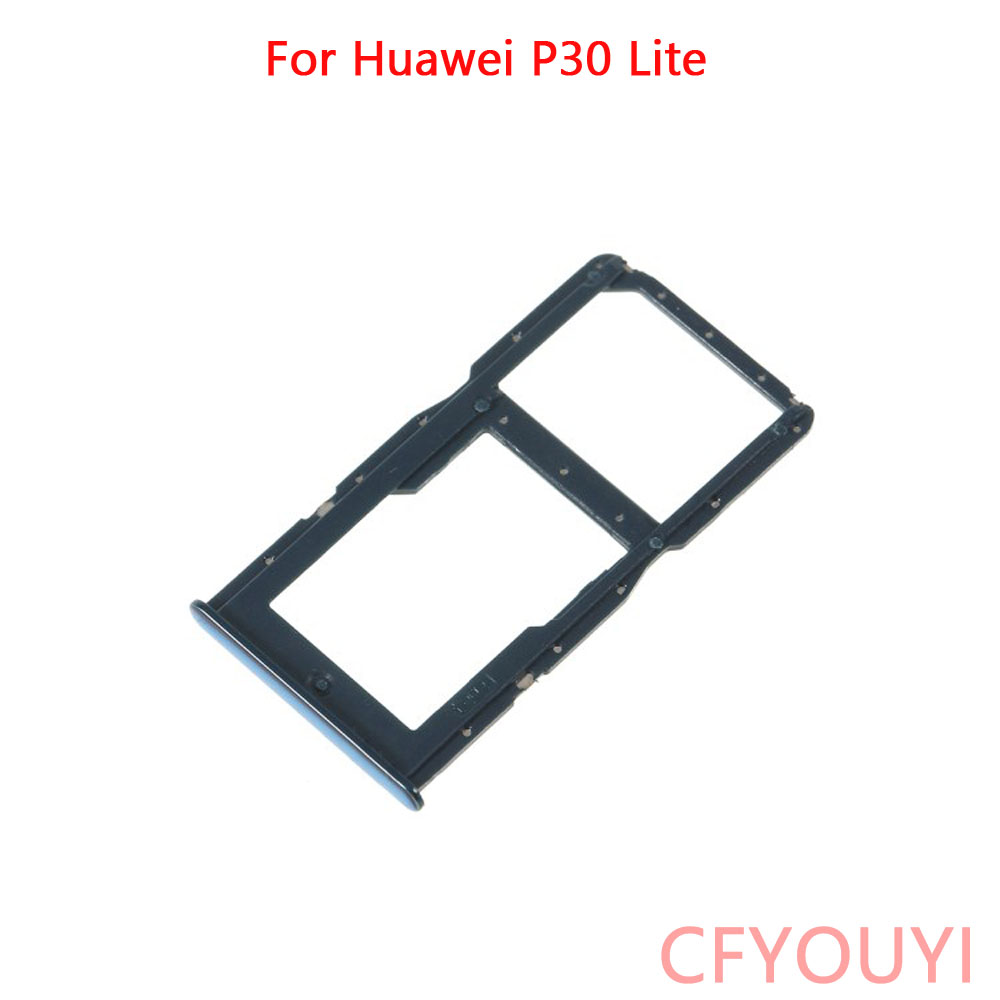 For Huawei P30 Lite Dual SIM Micro SD Card Tray Holder Replacement Part