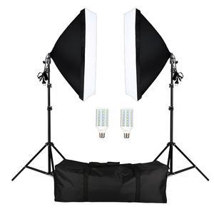 Lighting-Equipment Light-Stand Camera Softbox Photo-Studio LED Photography 2pcs