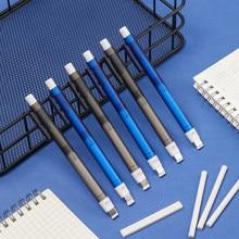 Gumka do rysowania w kształcie długopisu gumka do Push gumka do napełniania automatyczne gumki teleskopowe artykuły papiernicze prezenty szkolne