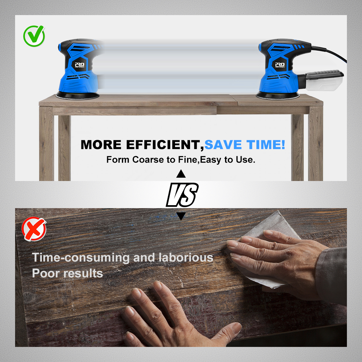 Prostormer more efficient and time saving than hands