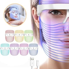 LED Mask Red Light Therapy Skin Rejuvenation Anti Aging Home SPA Whitening Skin Treatment Face Massager Beauty Device Face Care