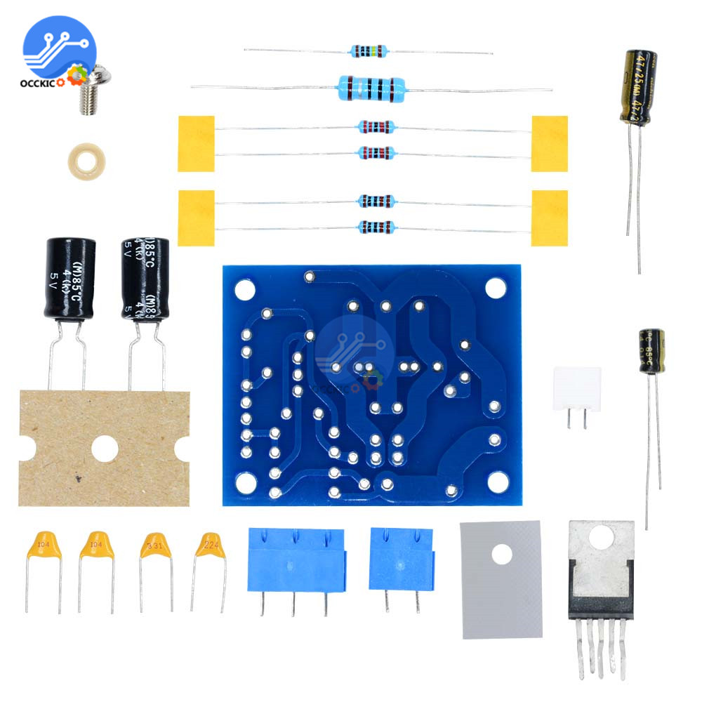 <font><b>LM1875T</b></font> Mono <font><b>Amplifier</b></font> Board <font><b>Audio</b></font> <font><b>Stereo</b></font> HIFI Sound Board for Arduino <font><b>DIY</b></font> Speaker <font><b>Kit</b></font> Preamp image