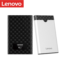 Корпус для жесткого диска Lenovo 2,5 дюйма, корпус для SSD Sata на USB 3,0/3,1/Type C Externo 6 ТБ, портативный внешний hd для жесткого диска 2,5 дюйма