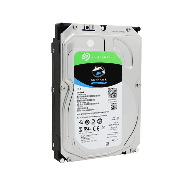 US $186 97 14% OFF|Seagate Surveillance 6TB Video HDD Internal Hard Disk  Drive 7200RPM SATA 6Gb/s 3 5inch 256MB Cache HDD For Security  ST6000VX001-in
