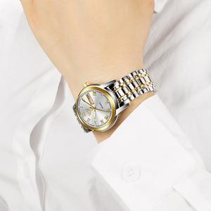 Image 4 - 2020 LIGE Women Watches Stainless Steel Lady Wristwatch Fashion Waterproof Ladies Watch Simple Gold Girl Clock Relogio Feminino