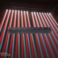 Profissional barra de led feixe luz principal móvil 8x12 w rgbw multicolorido led feixe luces dmx dj navidad fiesta lugar espetáculo escala