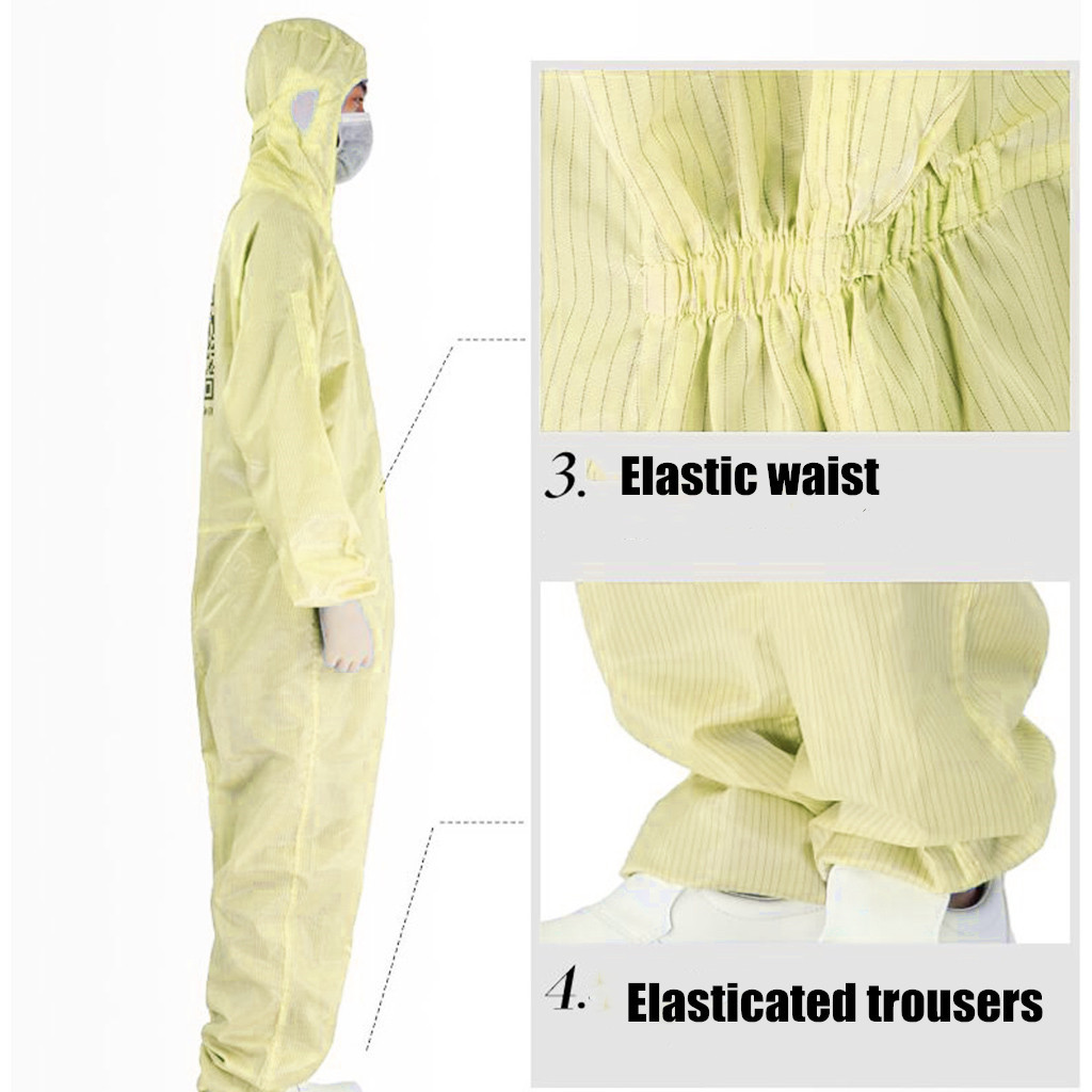 Disposable Protective Clothing as Coverall Medical Uniform and Isolation Suit for Nurse and Doctors 21