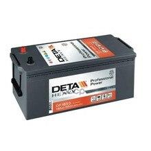 Аккумуляторная Батарея 185ah Deta Professional Power 12 V 185 Ah 1150 A Etn 3 B0 513x223x223mm 44.29kg DETA арт. DF1853