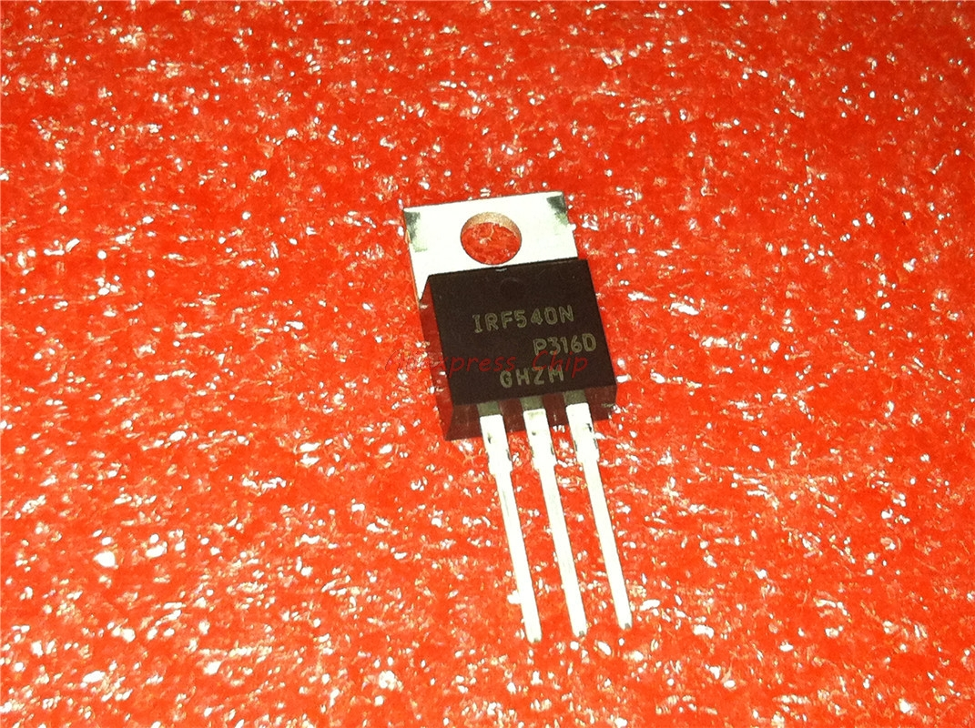 1pcs/lot IRF540NPBF <font><b>IRF540N</b></font> IRF540 TO-220 100V 33A MOS transistor N channel new <font><b>original</b></font> In Stock image