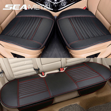 Automobiles Seat Covers Leather Seat Cover Cushion Universal Car Seat Protector Cushion Sets Interior Chair Mats Pad Accessories