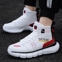 Спортивная обувь для мужчин Высота верхушки кроссовки Спорт на открытом воздухе Schoenen Демпфирование Comfortabele Atletische тренировочная обувь homme
